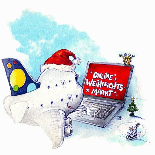 POTS Online Flieger-Weihnachtsmarkt